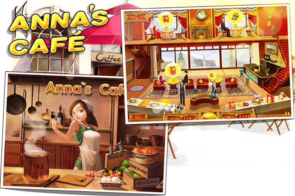 Screenshot Anna's Café